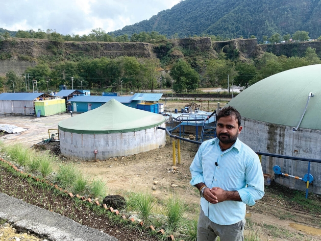 Nepal's future may not be in hydropower, as most assume, but actually in the dung heap. A new industrial-scale biogas plant near Pokhara has proved that livestock and farm waste producing flammable methane gas can replace imported LPG and chemical fertiliser.